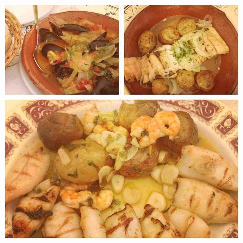 Lunch at Cascais, Portuguese Paradise