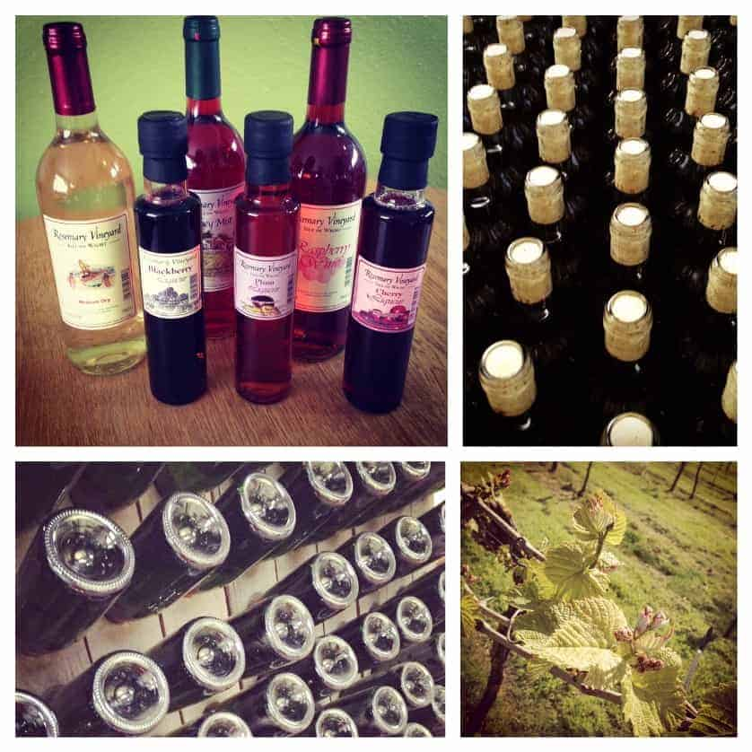 Products from Rosemary Vineyard on the Isle of Wight