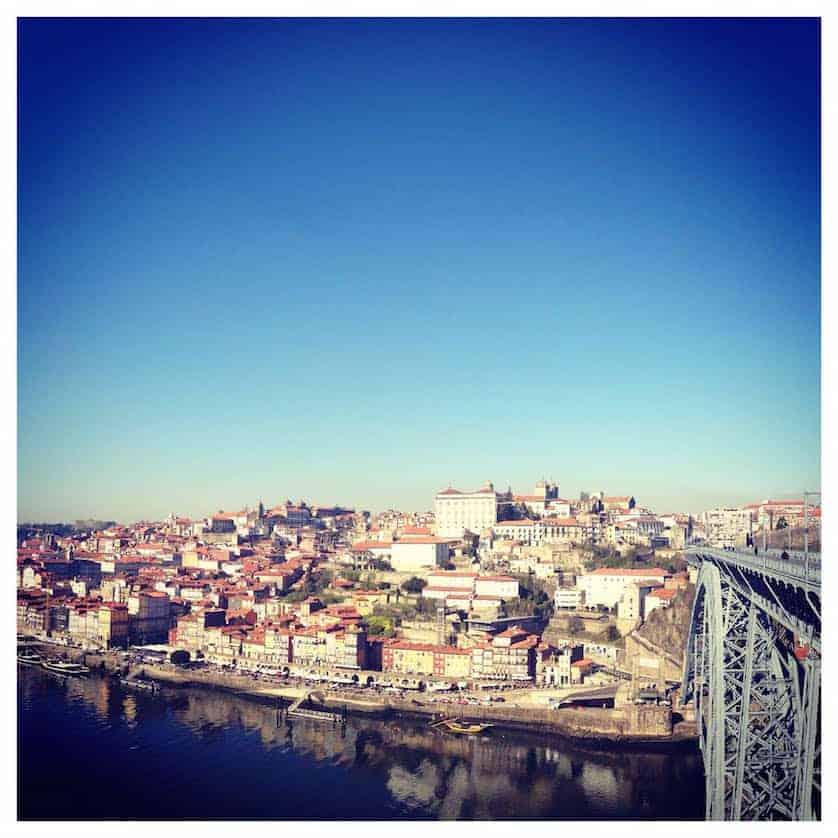 View over Porto, Port Tasting Porto Portugal
