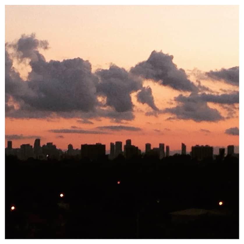 Sunset, Miami Beach