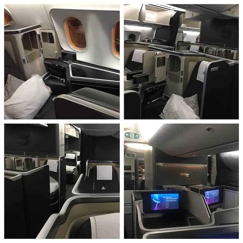 British Airways First Class on the Boeing 787 Dreamliner