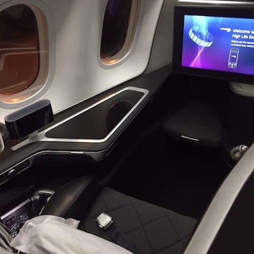 British Airways First Class from Kuala Lumpur to LHR T5