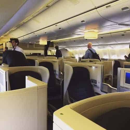 British Airways Club Europe to Madrid