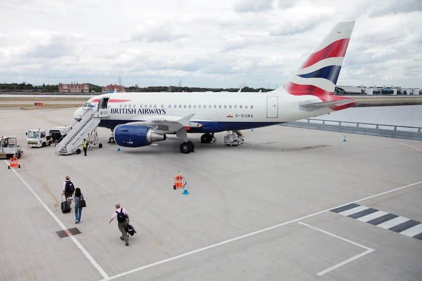 British Airways Club World London City