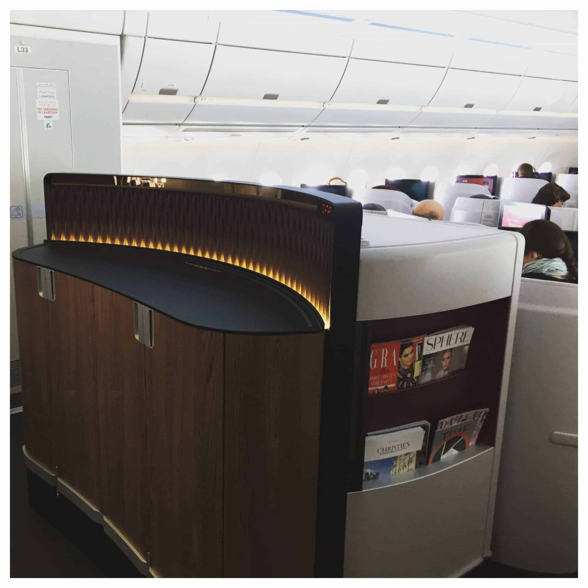 Qatar Airways Business Class Sale