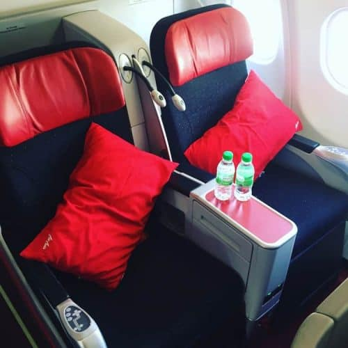 Air Asia Low Cost Business Class from Melbourne to Kuala Lumpur