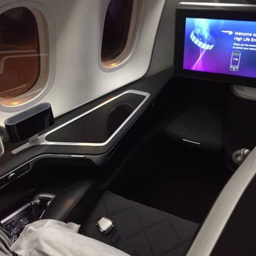 British Airways First Class from Kuala Lumpur to LHR T5