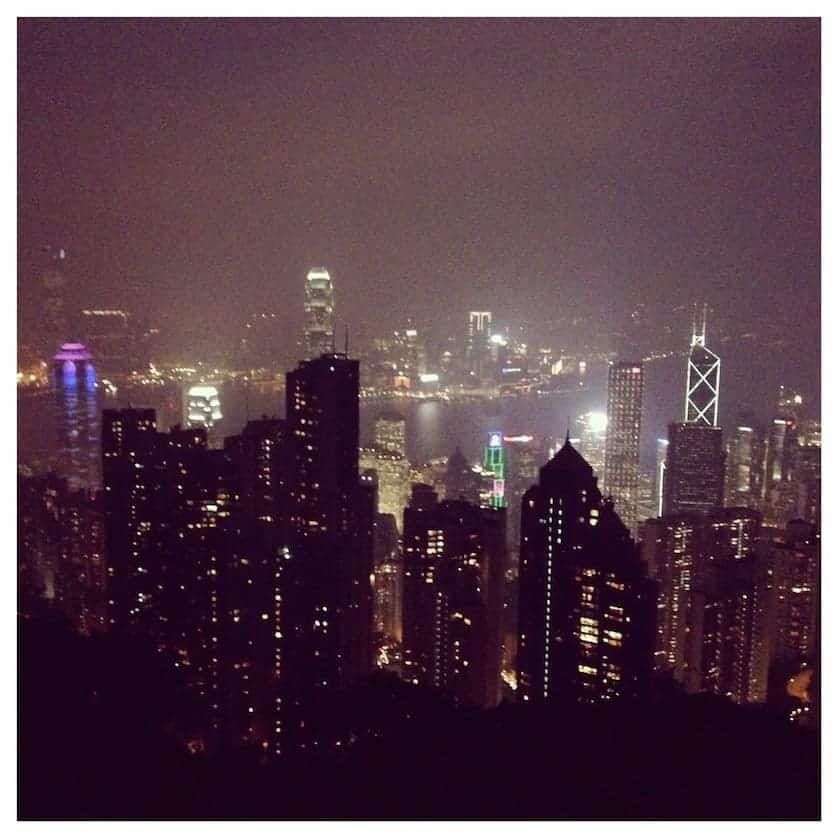 View from Victoria Peak - Hong Kong in a Day