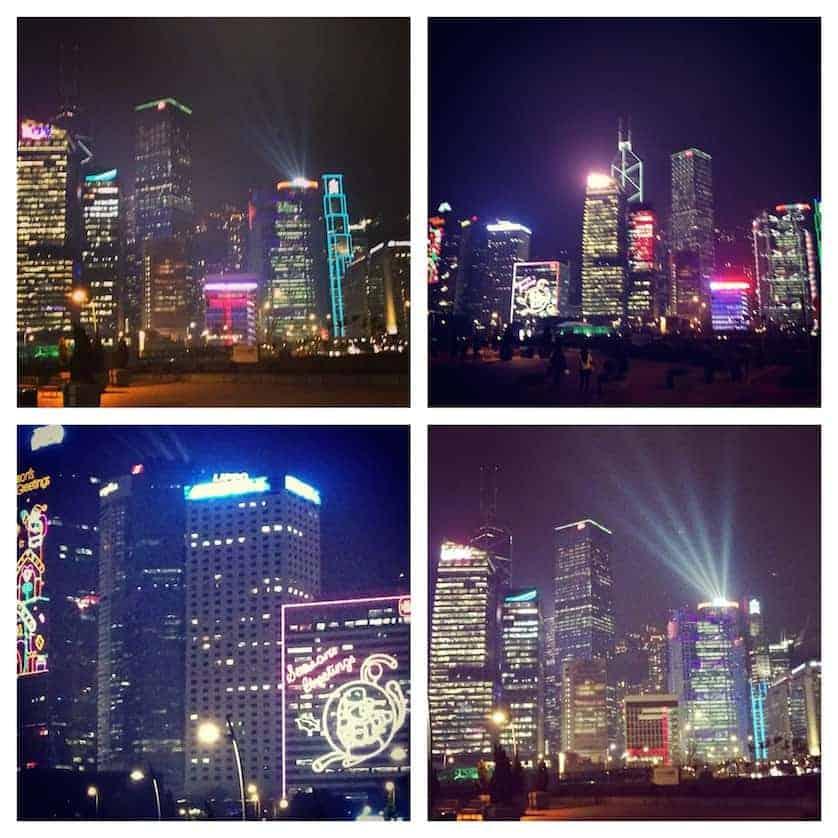 Laser Light Show - Hong Kong in a Day