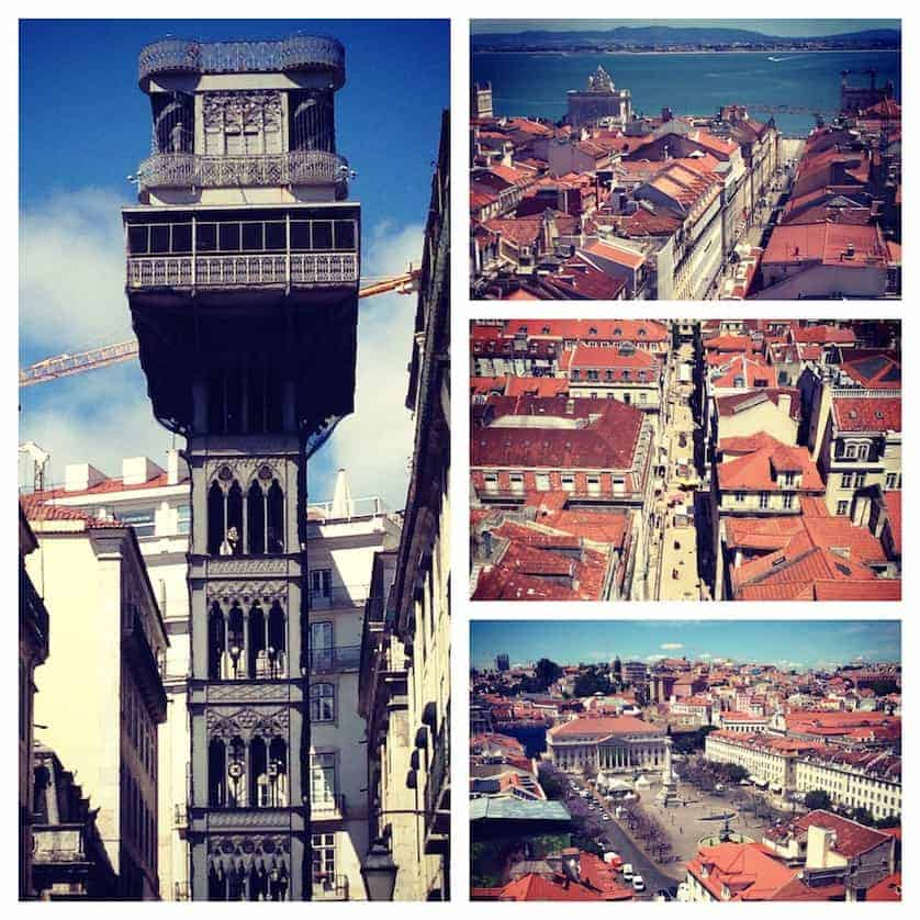 Elavador de Santa Justa - Perfect Lisbon City Break