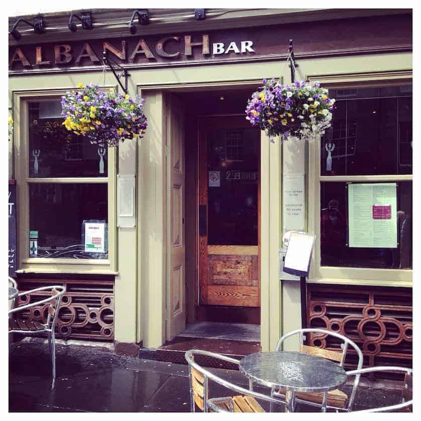 Albanach Bar, Edinburgh, Scotland