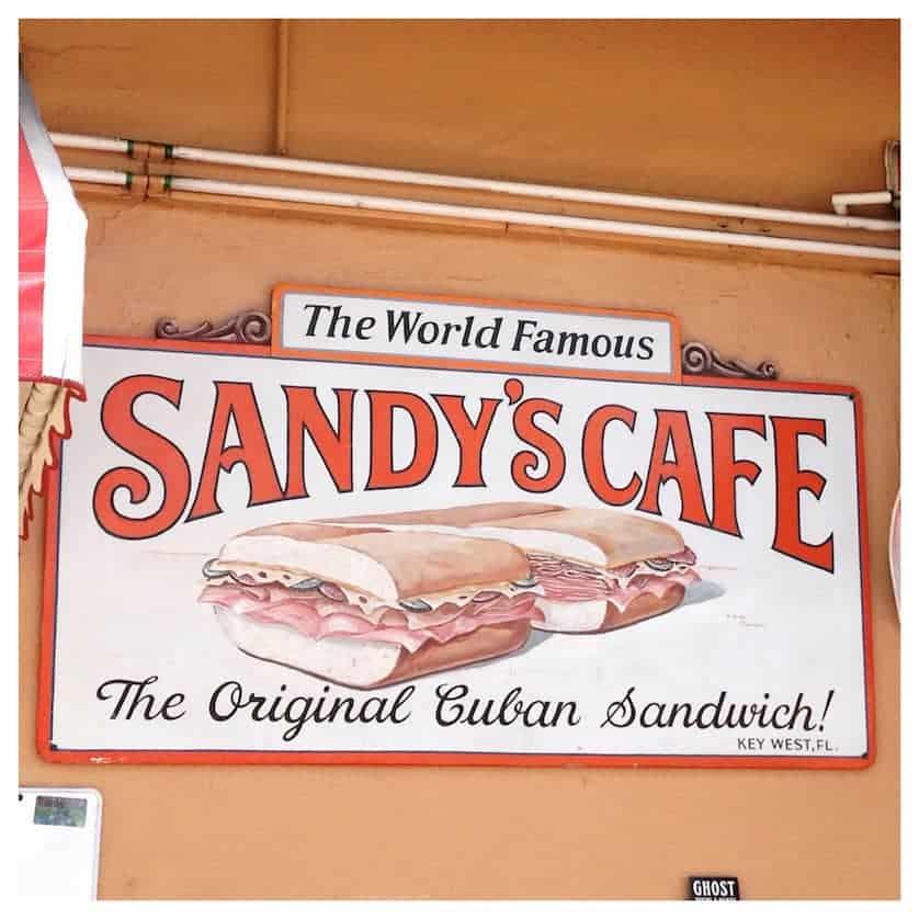 Key West - Sandy's Cafe
