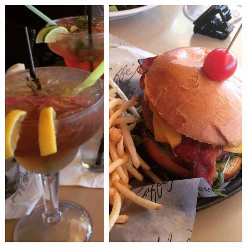 Lunch at Cafe Milano, South Beach, Miami Beach