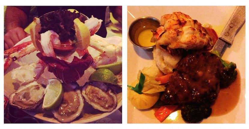 Dinner at Carlyle Cafe, South Beach, Miami Beach