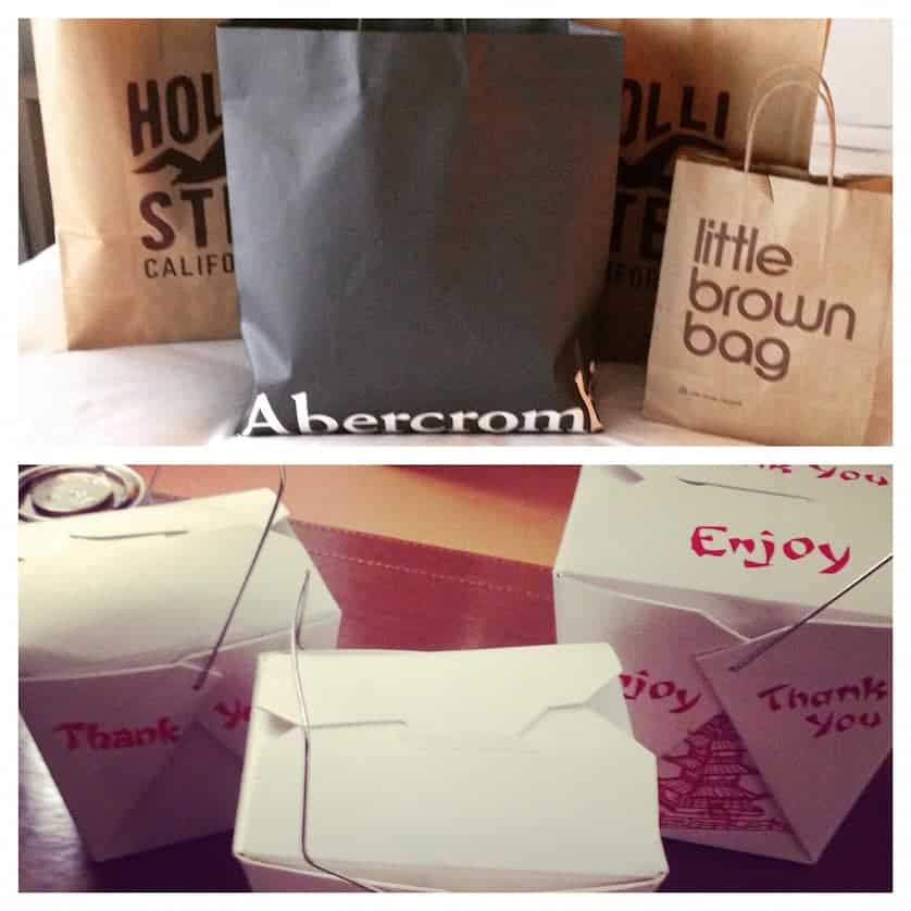 Shopping and Chinese Take Out - Miami Beach