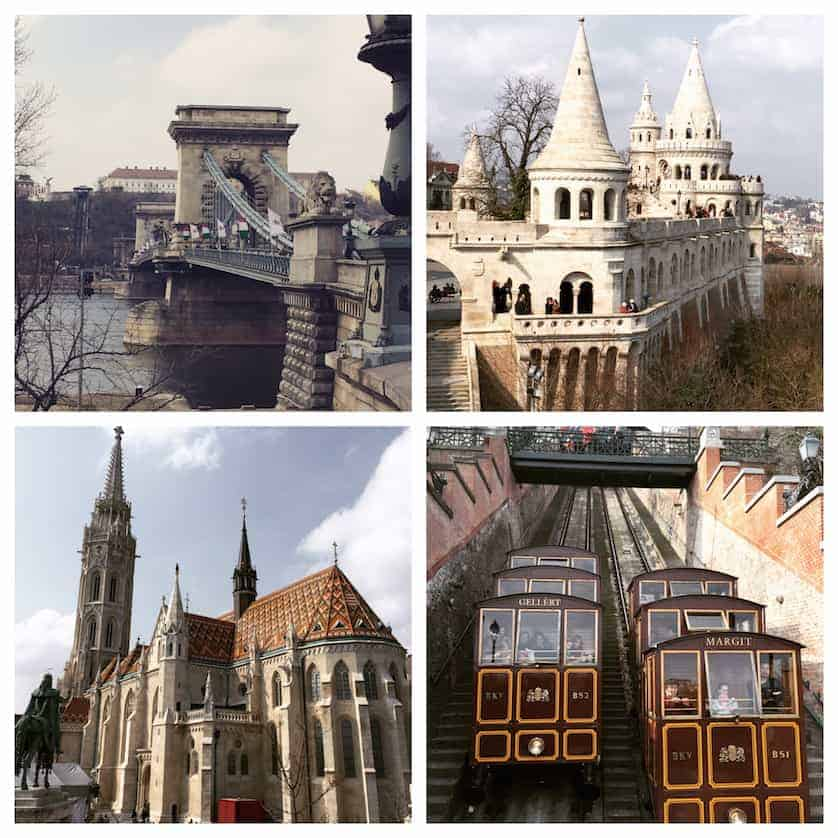 Chain Bridge, Matthias Church, Fishermans Bastion, Buda Hill Funicular, Bohemian Budapest