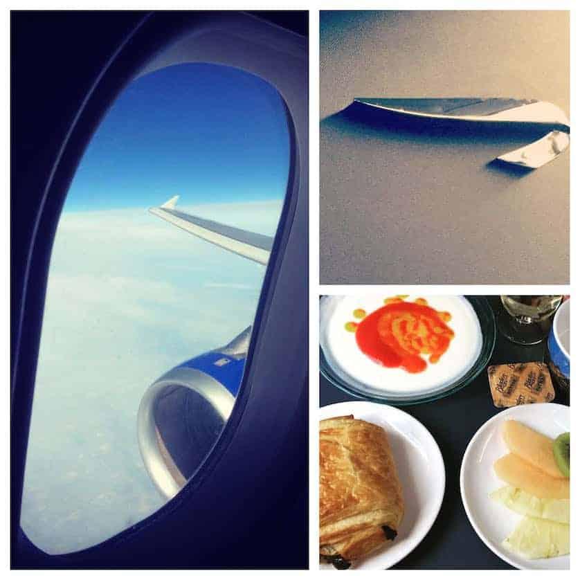 Corfu - British Airways Flight