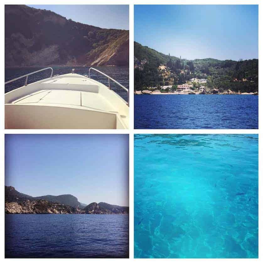 Corfu - Day in Speedboat