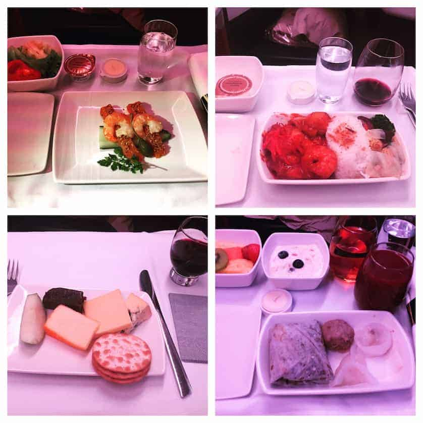 Cathay Pacific Dinner British Airways Vs Cathay Pacific Business Wars