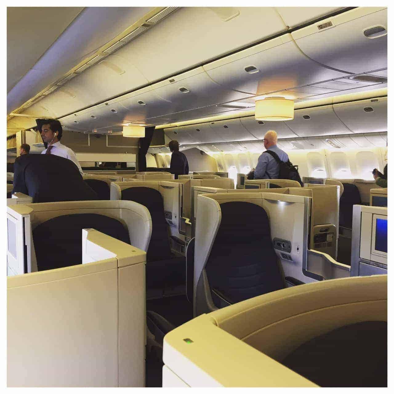 British Airways Club Europe to Madrid