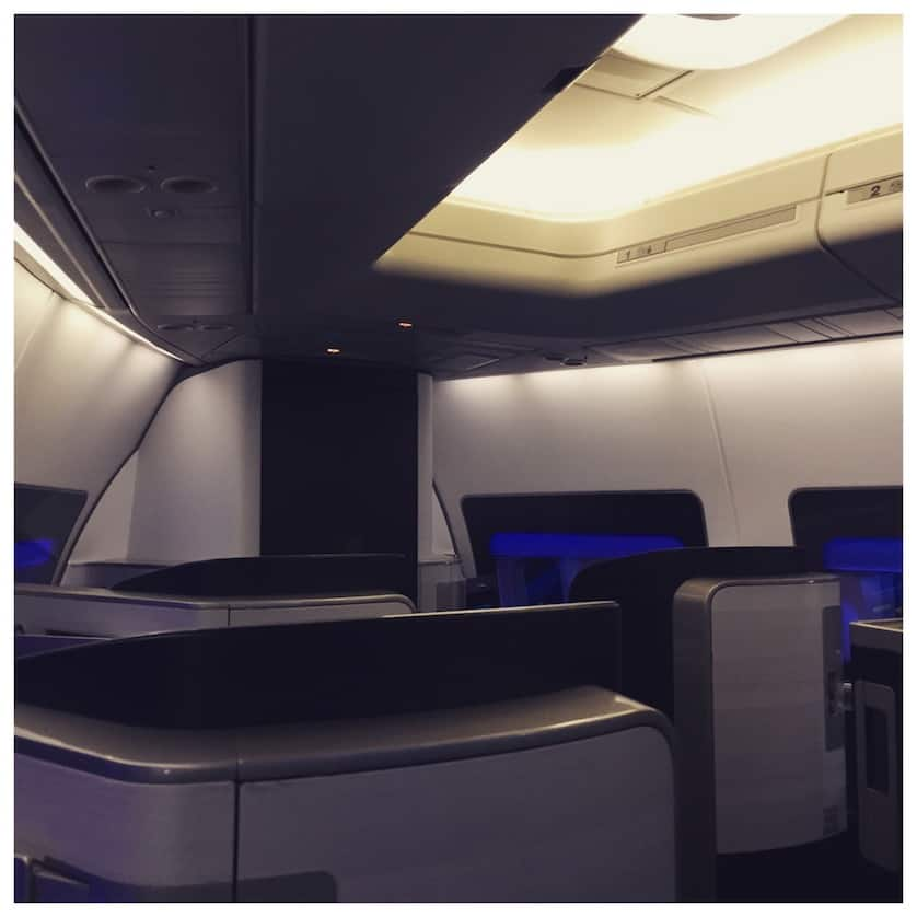 British Airways First Class on a 747 from London Heathrow to New York by WorldWideWill