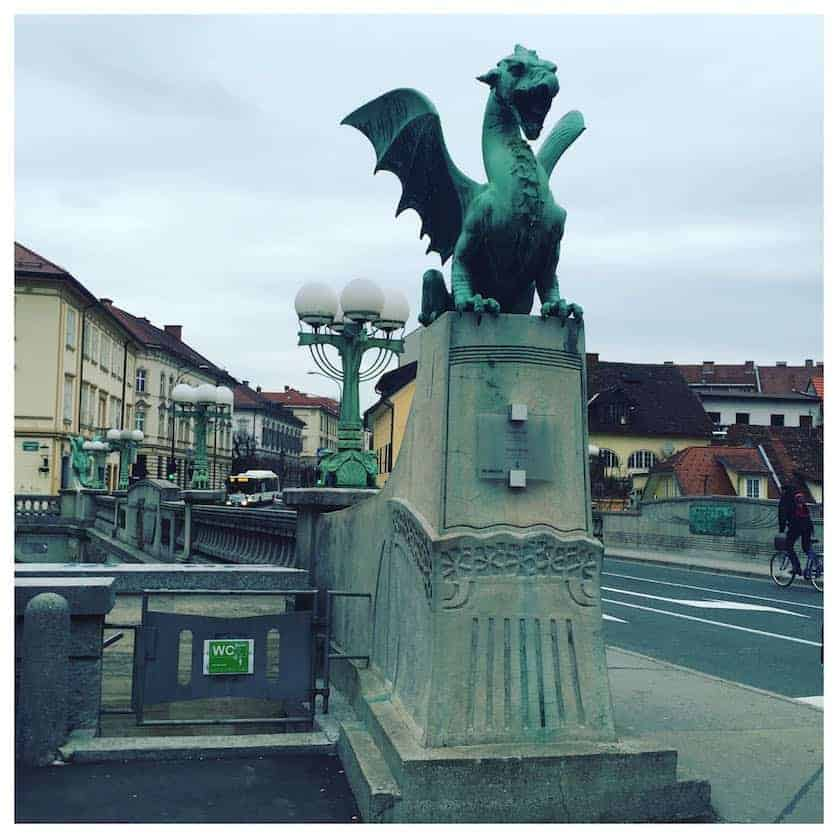 Ljubljana City Break - Ljubljana Dragon Bridge