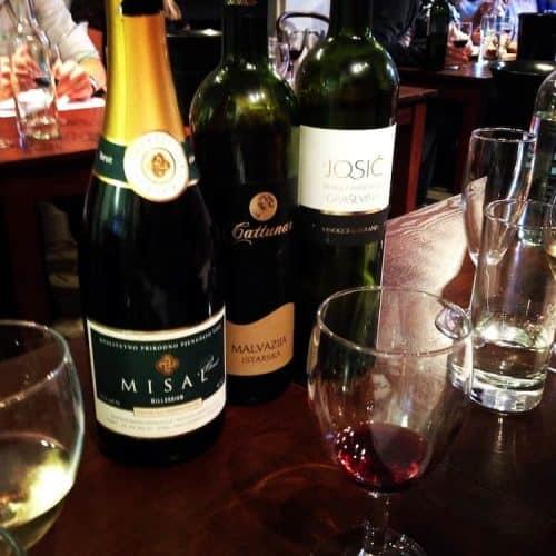 Croatian Wine Tasting evening!