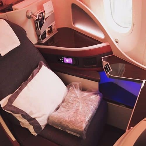 Qatar Airways Business Class on the Boeing 787 and Airbus A350