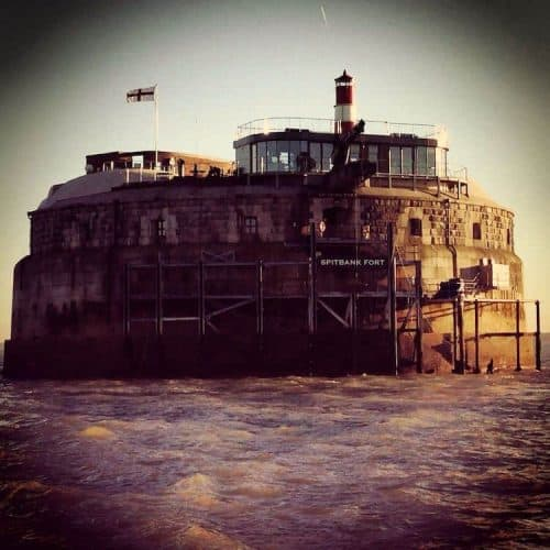 Spitbank Fort Sunday Lunch Experience