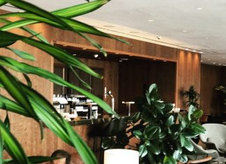 Cathay Pacific Lounge in Heathrow Terminal 3 - an upgrade on British Airways Terminal 3