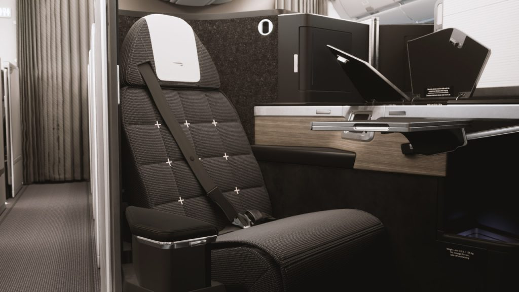British Airway Club World Suites