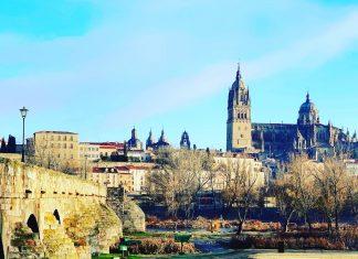 Evening in Salamanca