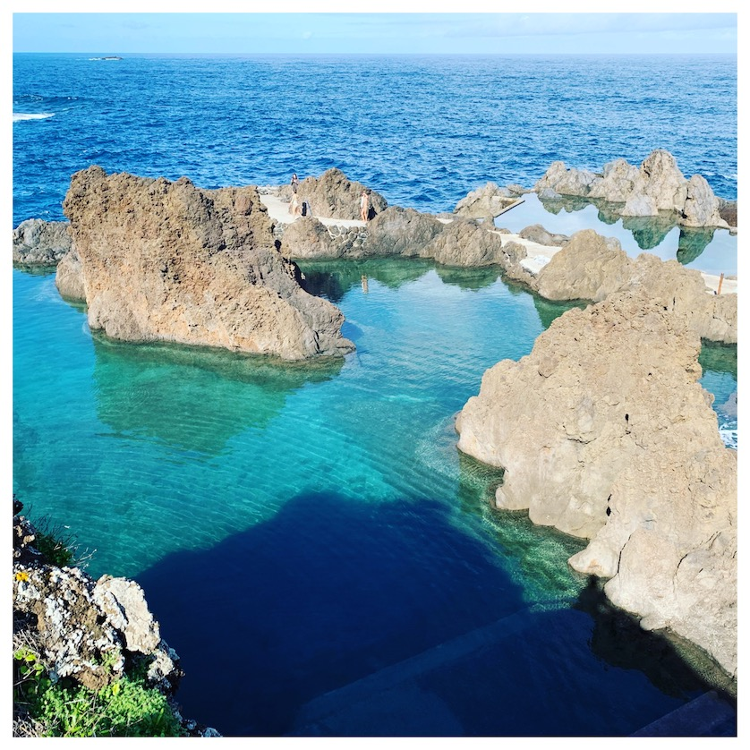 the fresh water pools in madeira