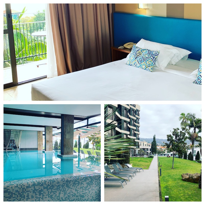 my hotel on my Funchal City Break
