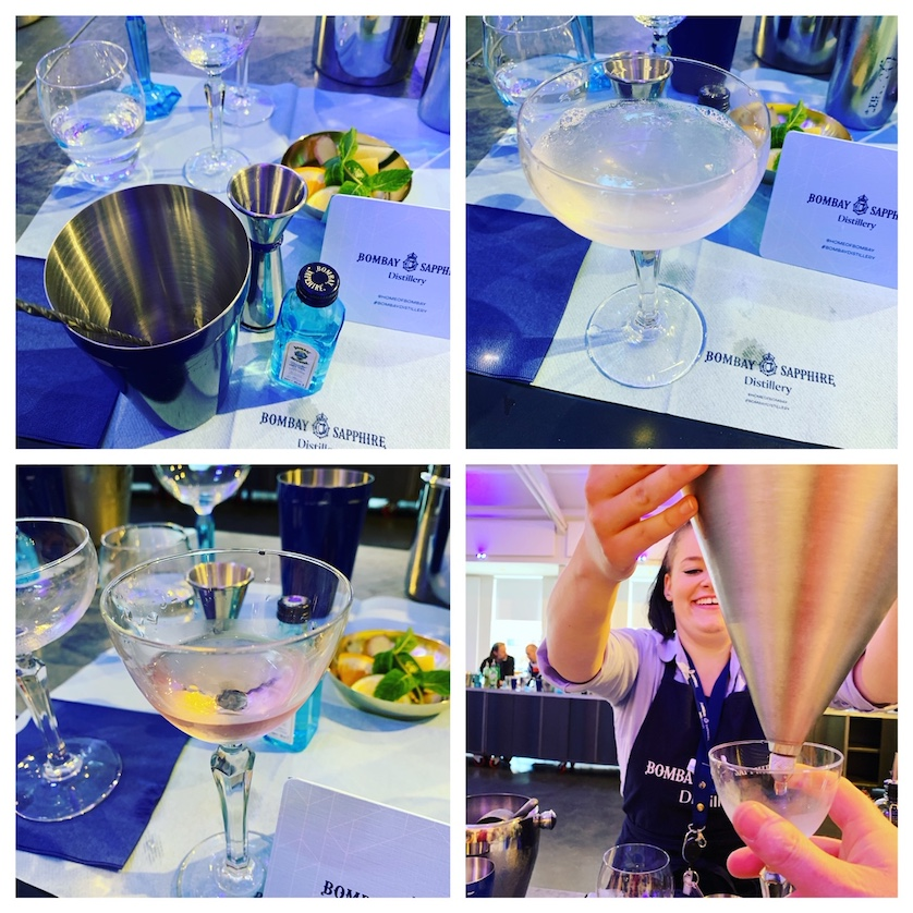 Bombay Sapphire Distillery Gin Cocktail Masterclass