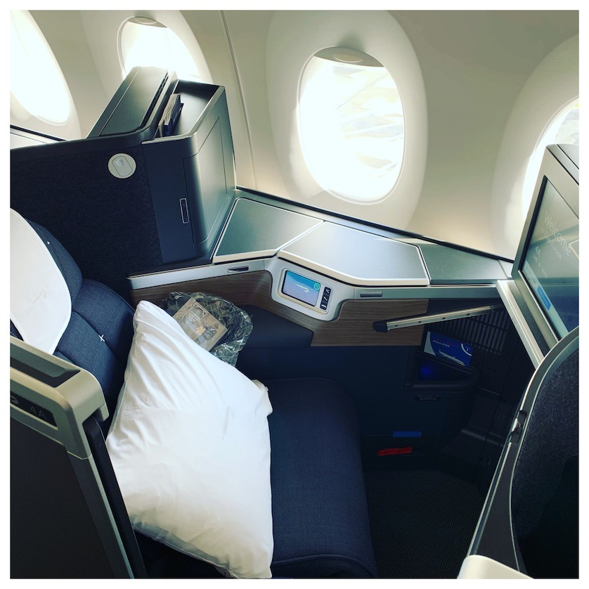 British Airways A350 Club Suites