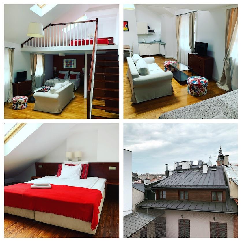 My Apartment on Krakow City Break