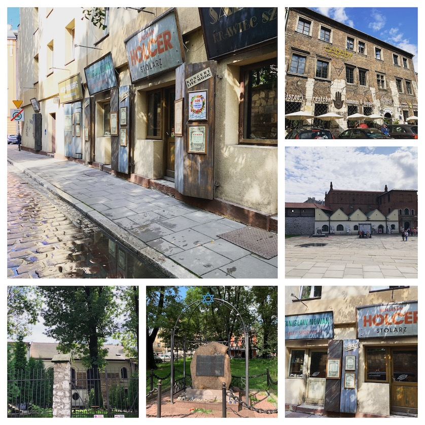 Jewish Quarter in Krakow, Poland