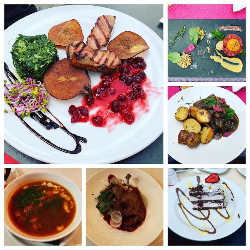 Some of the food on my Krakow City Break