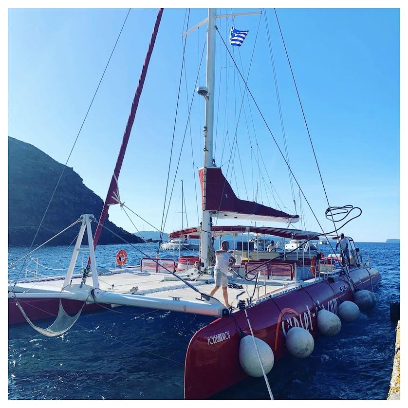 Caldera Boat Trip