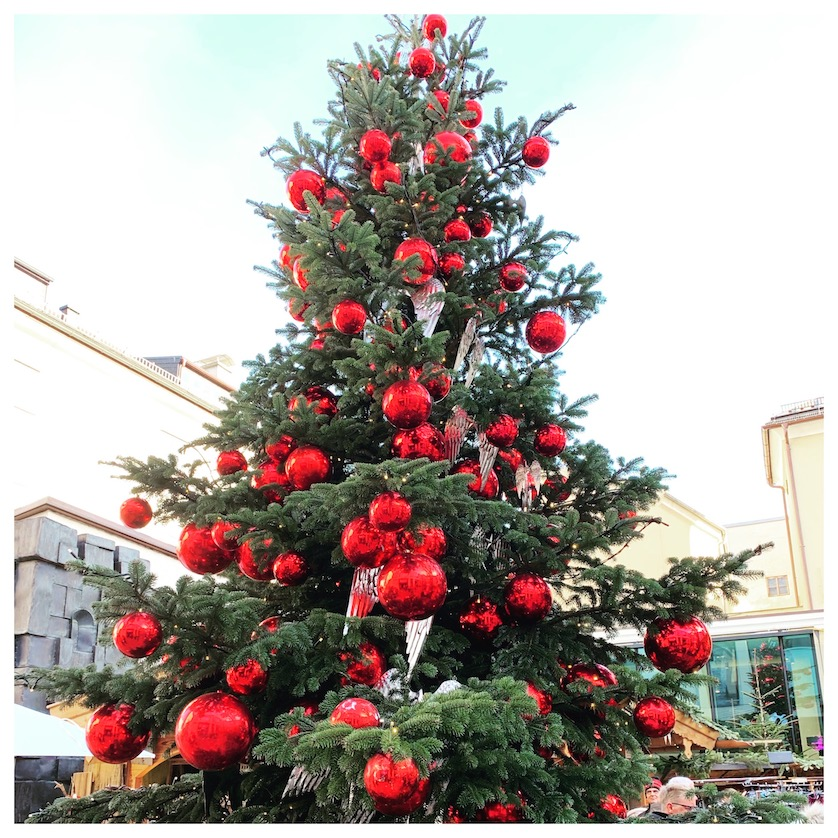 Salzburg Christmas Tree
