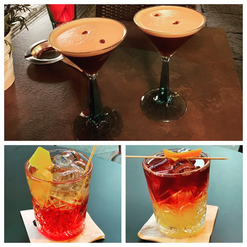 Cocktails in Bologna